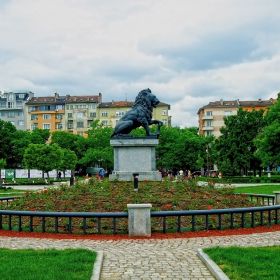 София - Лъвът от войнишкия мемориал