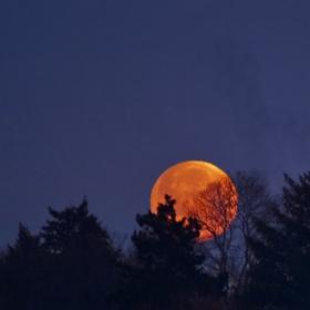 Залезът на Супер Луна
