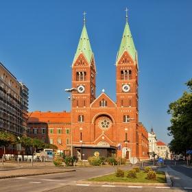 Францисканската църква на Марибор, 1903 г.