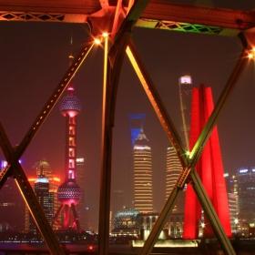 Waibaidu Bridge, LuJiaZui, Shanghai