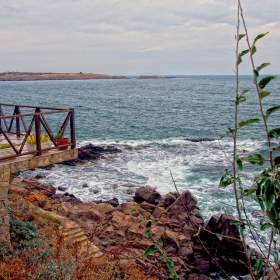 Созопол - Поглед към остров Свети Иван