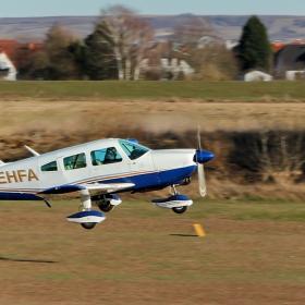 Piper PA - 28 - 181  излита...