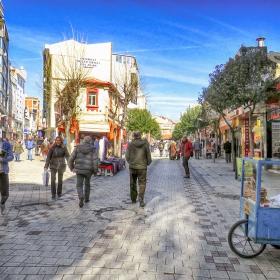 По улиците на Лозенград