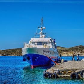 Пристанището на остров Делос