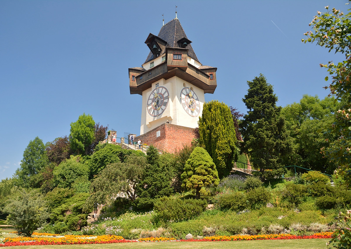 Uhrturm, 1712 г., Graz