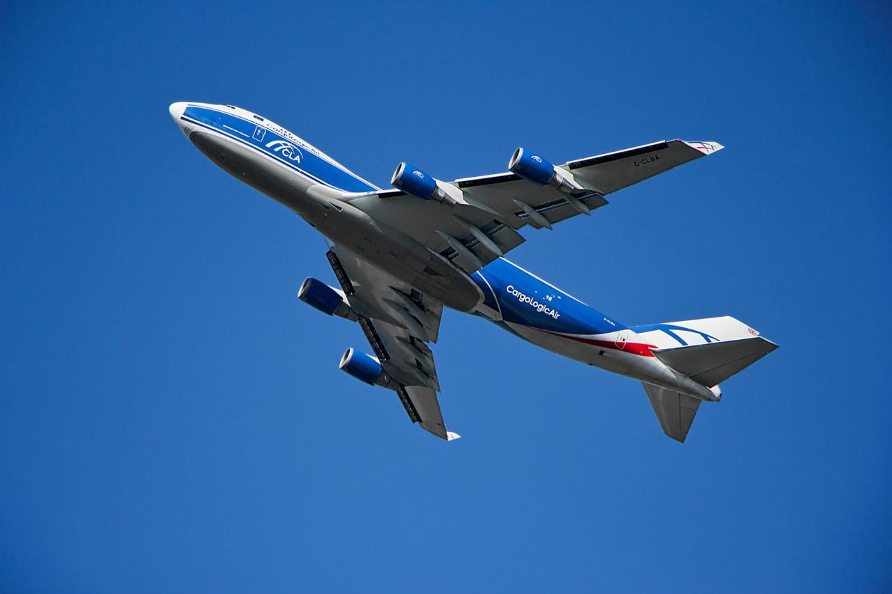 Красавец:  Boeing 747-428F Cargologicair UK... Dnepr Group