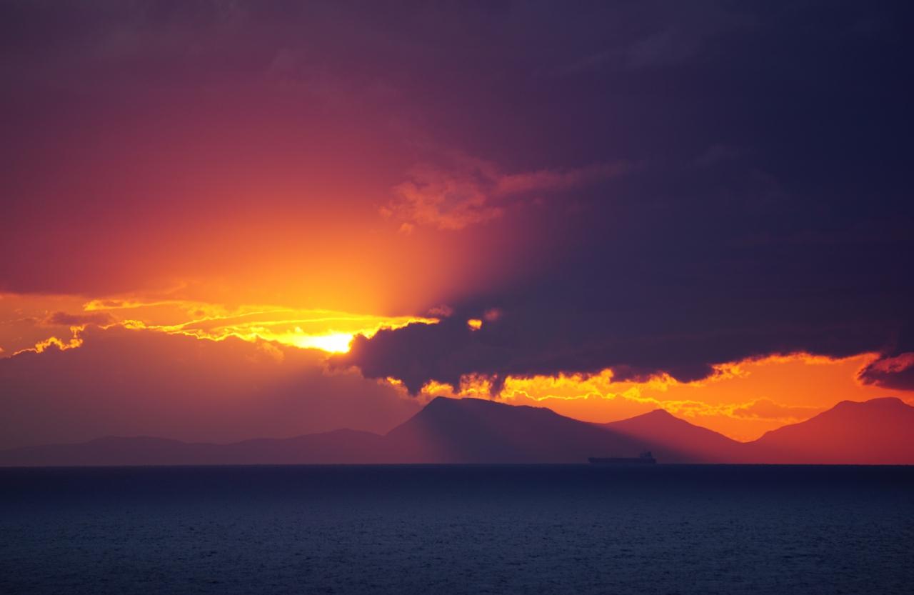 Небе в пламъци