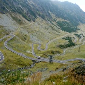 Пътя Трансфъгараш, Румъния