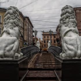 Санкт-Петербург. Львиный мост