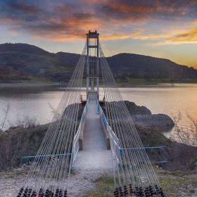 Мостът за село Лисиците