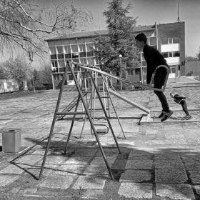Деца играят вън!