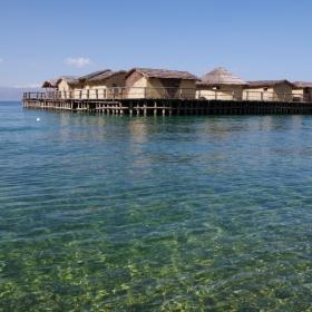 Охридското езеро, Залива на костите