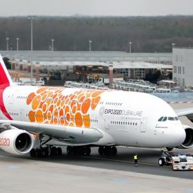 Airbus A380-800 Emirates.... EXPO2020DUBAI