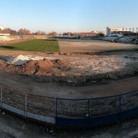 Ремонт на стадион Спартак