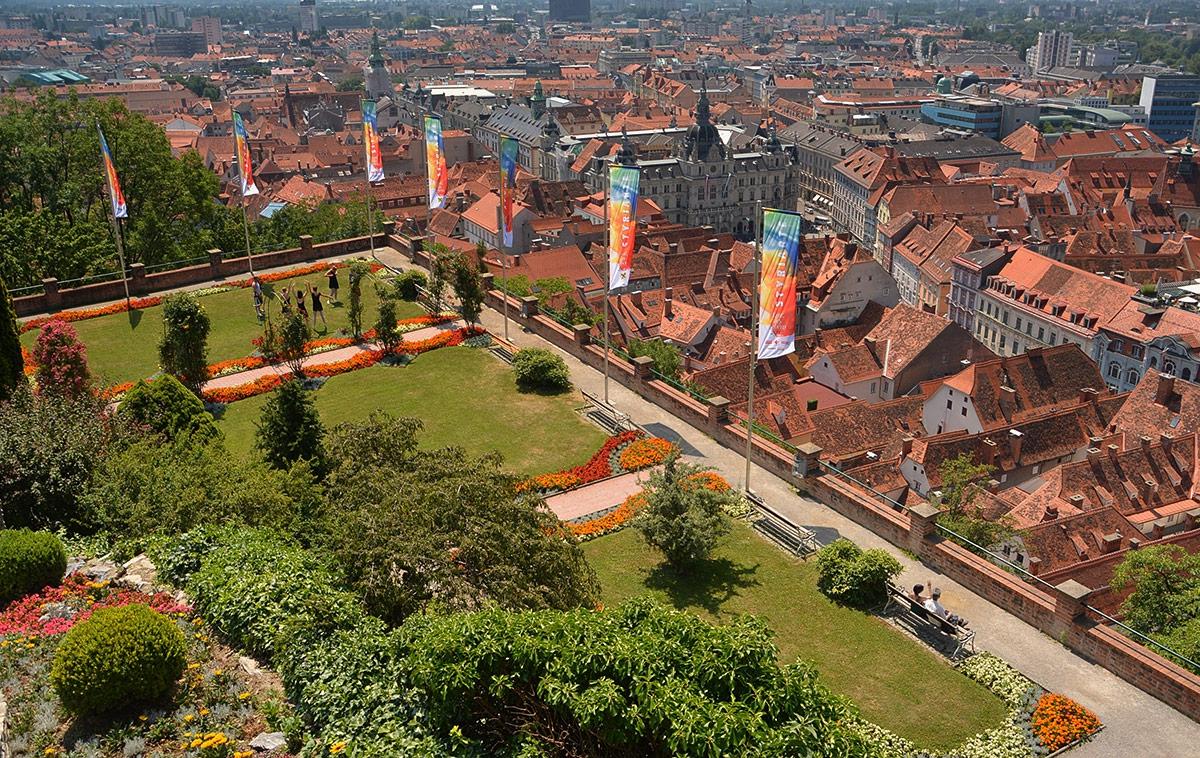 The Citizens Bastion, 1556 г., Graz