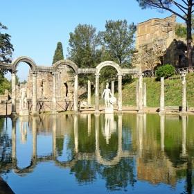 Вилата на Адриан в Тиволи, до Рим