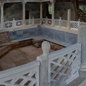 Мраморния басейн на вила Армира, I-IV в.сл.Хр.