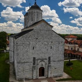 Старата манастирска църква,  1749 г., Ковил