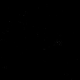 Марс между Хиядите в ляво и Плеядите в дясно на 31.03.2019г.