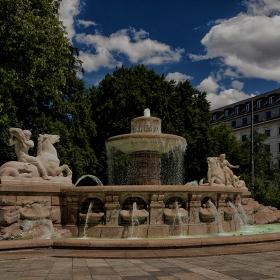 Wittelsbacherbrunnen, 1895 г.