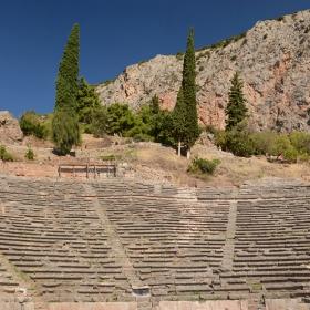 Ancient Theatre in Delphi
