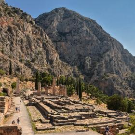 The Temple of Apollo, Delpfi