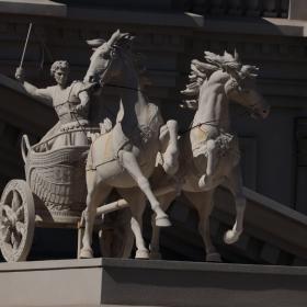 Piece of art from Caesars Palace - Las Vegas