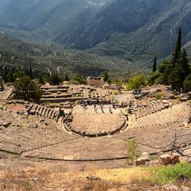 Ancient theatre in Delphi, 160-159 г. пр.н.е.