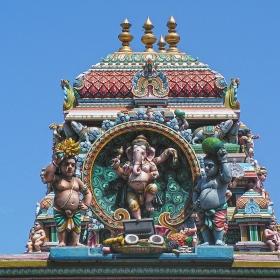 Ченай - Детайл от храм