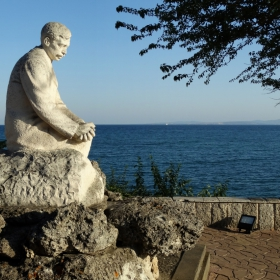 Поморие-паметникът на Яворов