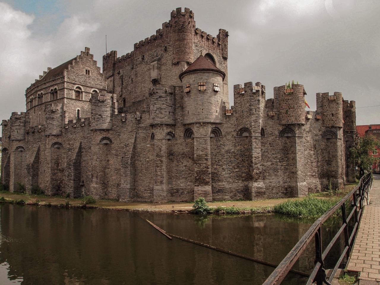Gravensteen Castle - Ghent, Belgium