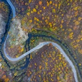 Меандри на река Чепинска