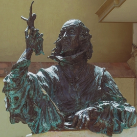 Pedro de Mena Sculpture in Malaga, Spain