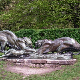 Гент - Скулптура в citadelpark