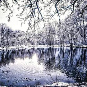 Зима в Бяла Слатина