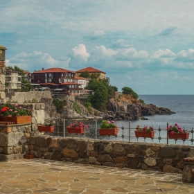 Созопол - Изглед от Стария град