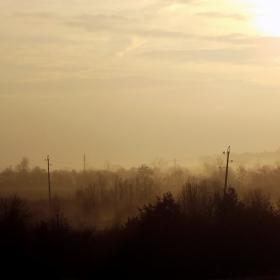 Днес, предколедно, мъглата се повдигна