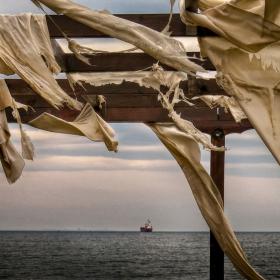 Февруари, море и вятър