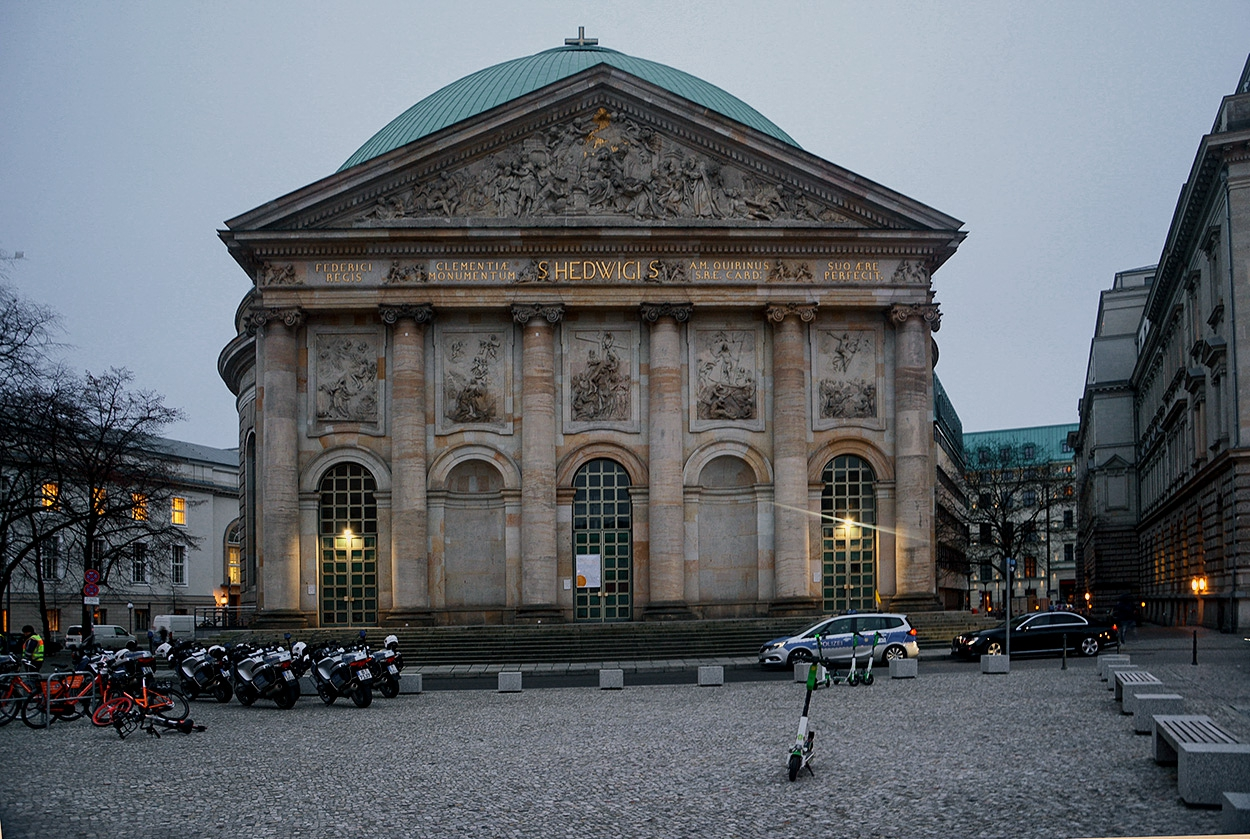 St. Hedwig's Cathedral, 1773 г., Berlin