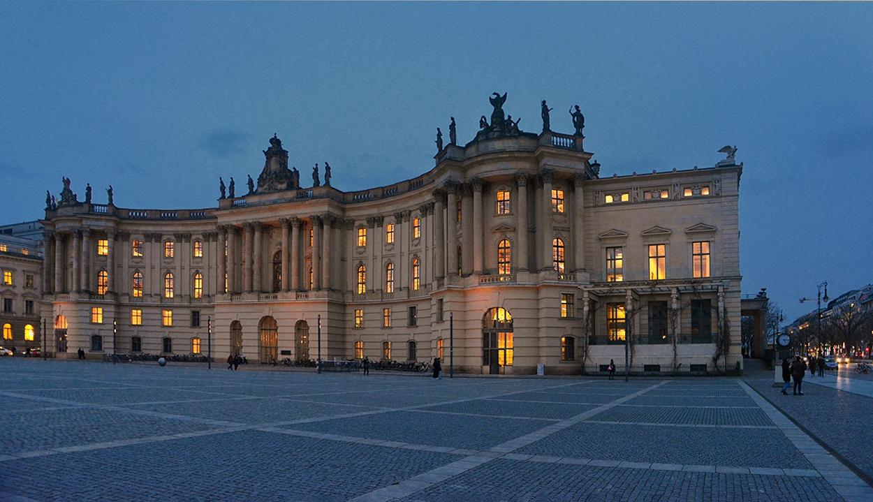 Старата библиотека, 1780 г., Берлин