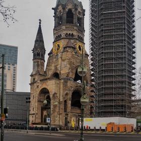 Kaiser Wilhelm Gedachtnis Kirche, 1895 г., Berlin