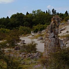 Побитити камъни -край гр.Варна