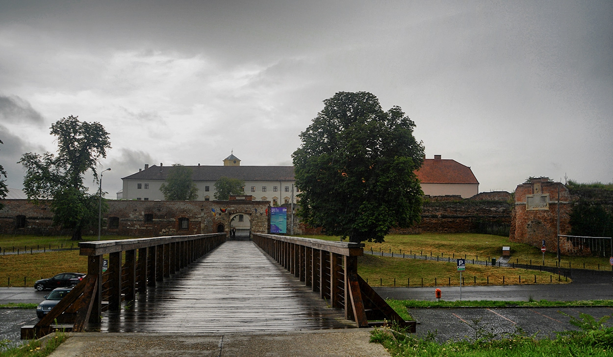 Oradea Fortress, западна порта