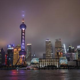 Fog Over LuJiaZui, Shanghai