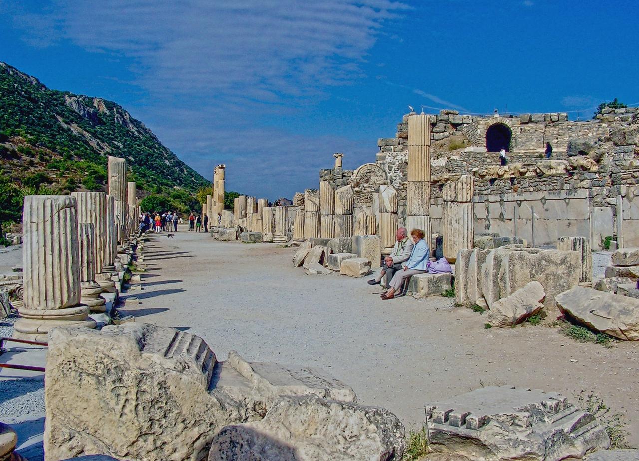 Ephesus - Curetes street