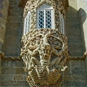 Sintra - Palacio da Pena - Triton Portal