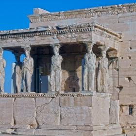 Athens - Acropolis - Caryatids