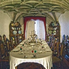 Sintra, Palacio da Pena, Sala de jantar