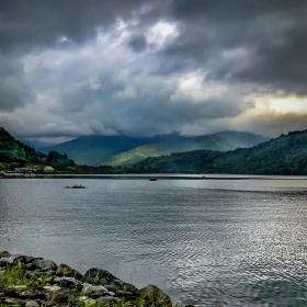 Drama Over Liyu Lake. Taiwan, Pacific Coast