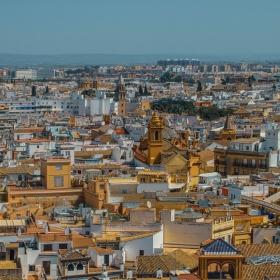 Севиля - Поглед от камбанарията